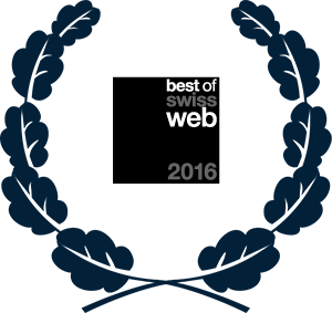 Best of Swiss Web 2016